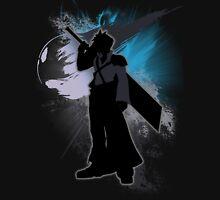Super Smash Bros. Black Advent Cloud Silhouette Unisex T-Shirt