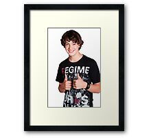 thumbs up! :) Framed Print