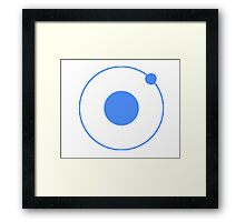 ionic Framed Print