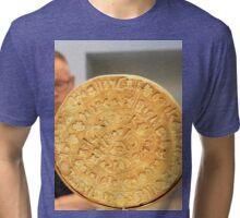 The Phaistos Disc (also spelled Phaistos Disk Tri-blend T-Shirt