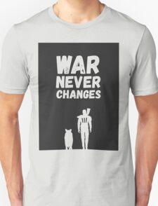 Fallout 4 war never changes T-Shirt