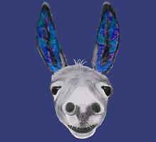 Funny donkey (blue/purple) Hoodie