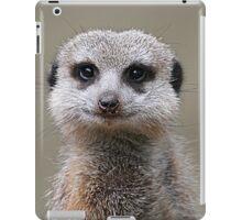 Meerkat Portrait iPad Case/Skin