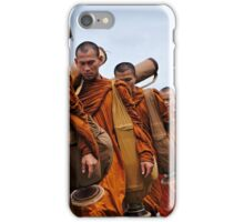 The Buddhist Monks' March iPhone Case/Skin