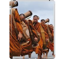 The Buddhist Monks' March iPad Case/Skin