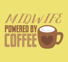 Midwife powered by COFFEE One Piece - Short Sleeve