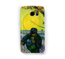 1888-Vincent van Gogh-The sower-32x40 Samsung Galaxy Case/Skin