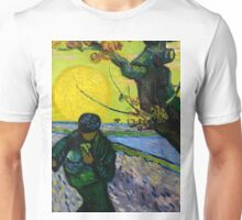 1888-Vincent van Gogh-The sower-32x40 Unisex T-Shirt