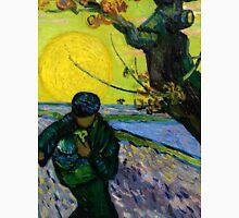 1888-Vincent van Gogh-The sower-32x40 Unisex T-Shirt