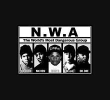 N.W.A Niggaz Wit Attitudes Unisex T-Shirt