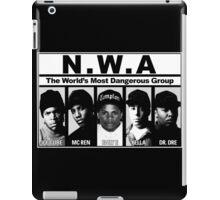 N.W.A Niggaz Wit Attitudes iPad Case/Skin