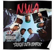 Niggaz Wit Attitudes N.W.A Poster