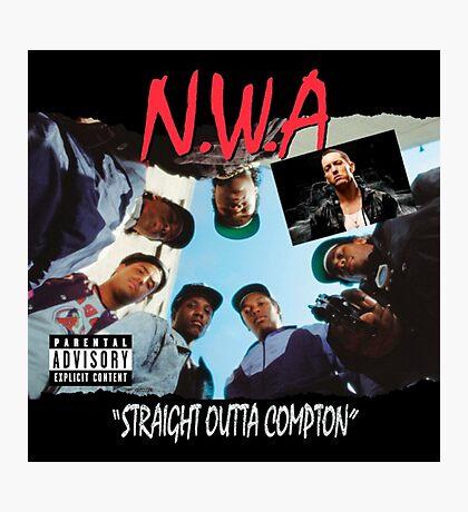 Niggaz Wit Attitudes N.W.A Photographic Print