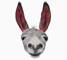 Funny donkey (red/orange) One Piece - Long Sleeve