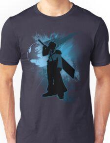 Super Smash Bros. Blue Advent Cloud Silhouette Unisex T-Shirt