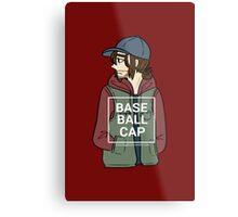 Bucky (Baseball Cap) Metal Print