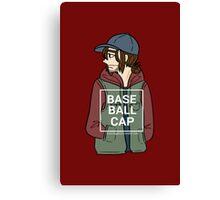 Bucky (Baseball Cap) Canvas Print