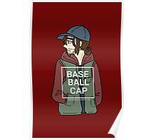 Bucky (Baseball Cap) Poster