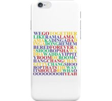 GREASE WE GO TOGETHER iPhone Case/Skin