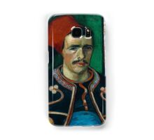 1888-Vincent van Gogh-The Zouave-54x65 Samsung Galaxy Case/Skin
