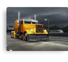KrAZ 258B Custom Truck Canvas Print