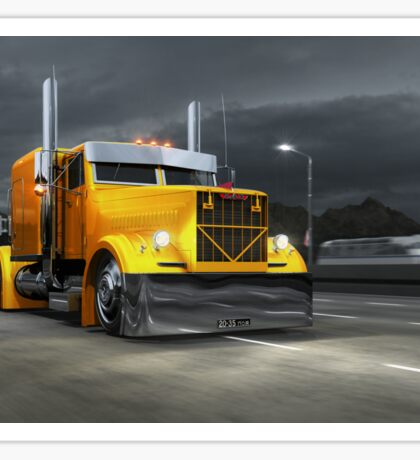 KrAZ 258B Custom Truck Sticker