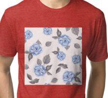 Roses. Watercolor Tri-blend T-Shirt