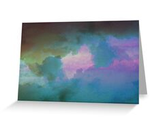 Imbue Sky Greeting Card