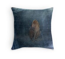 Feather with Meaning Throw Pillow