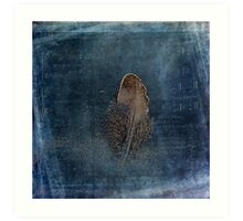 Feather with Meaning Art Print