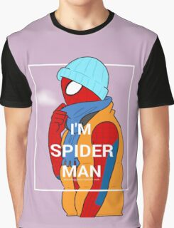I am Spider-Man Graphic T-Shirt