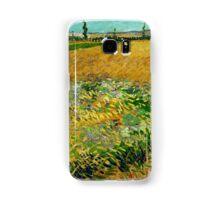 1888-Vincent van Gogh-Wheatfield-54x65 Samsung Galaxy Case/Skin