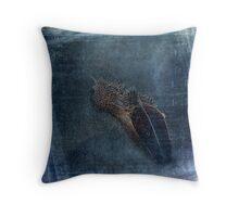 Flocking Feathers Throw Pillow