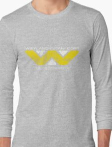 Weyland Yutani (Scuffed logo) Long Sleeve T-Shirt