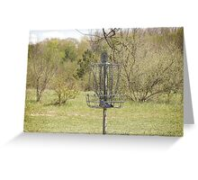 Brown Park Disc Golf Course Greeting Card