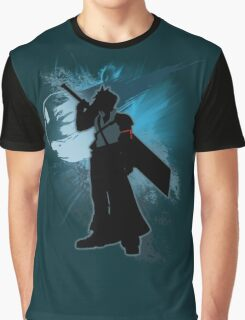 Super Smash Bros. Teal Advent Cloud Silhouette Graphic T-Shirt