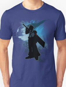 Super Smash Bros. Teal Advent Cloud Silhouette Unisex T-Shirt