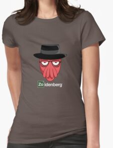 Zoidenberg on dark colors Womens Fitted T-Shirt