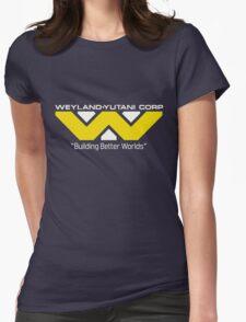 Weyland Yutani (Standard logo) Womens Fitted T-Shirt