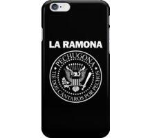 LA RAMONA (White) iPhone Case/Skin