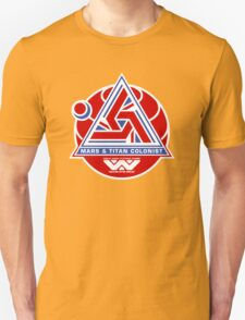 Alien Mars & Titan Colony Logo T-Shirt