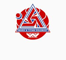 Alien Mars & Titan Colony Logo Unisex T-Shirt