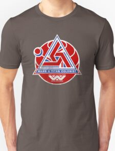 Alien Mars & Titan Colony Logo (scuffed) Unisex T-Shirt