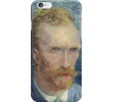 Vincent Van Gogh - Self Portrait -Van Gogh - Self Portrait iPhone Case/Skin