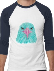 Special Eagle (turquoise) Men's Baseball ¾ T-Shirt
