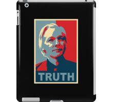 TRUTH, Julian Assange iPad Case/Skin