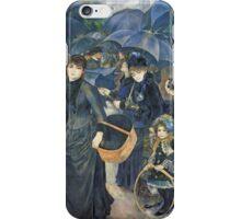 Renoir Auguste - The Umbrellas. Auguste Renoir Umbrellas iPhone Case/Skin