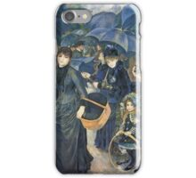 Renoir Auguste - The Umbrellas. Auguste Renoir Umbrellas iPhone Case/Skin
