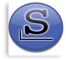 Slackware logo Canvas Print