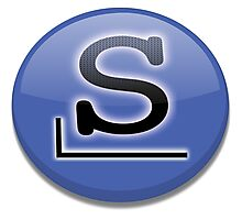 Slackware logo Photographic Print
